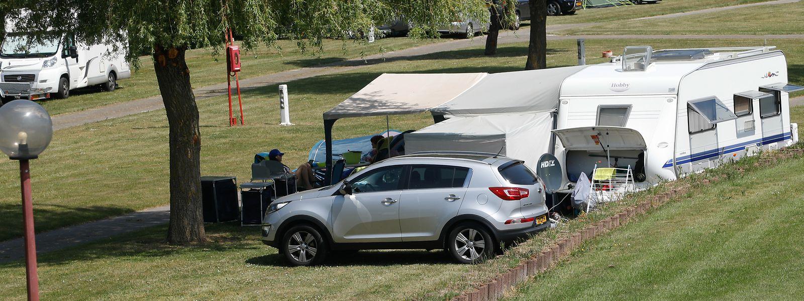 Les campings luxembourgeois peuvent compter sur des clients particulièrement fidèles.