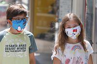 Wirtschaft, Lokales, Illustrationen, Masken, Covid 19, verschiedene Masken, Mode der Masken, Muster, Farbe,  Corona-Zeiten Foto: Anouk Antony/Luxemburger Wort