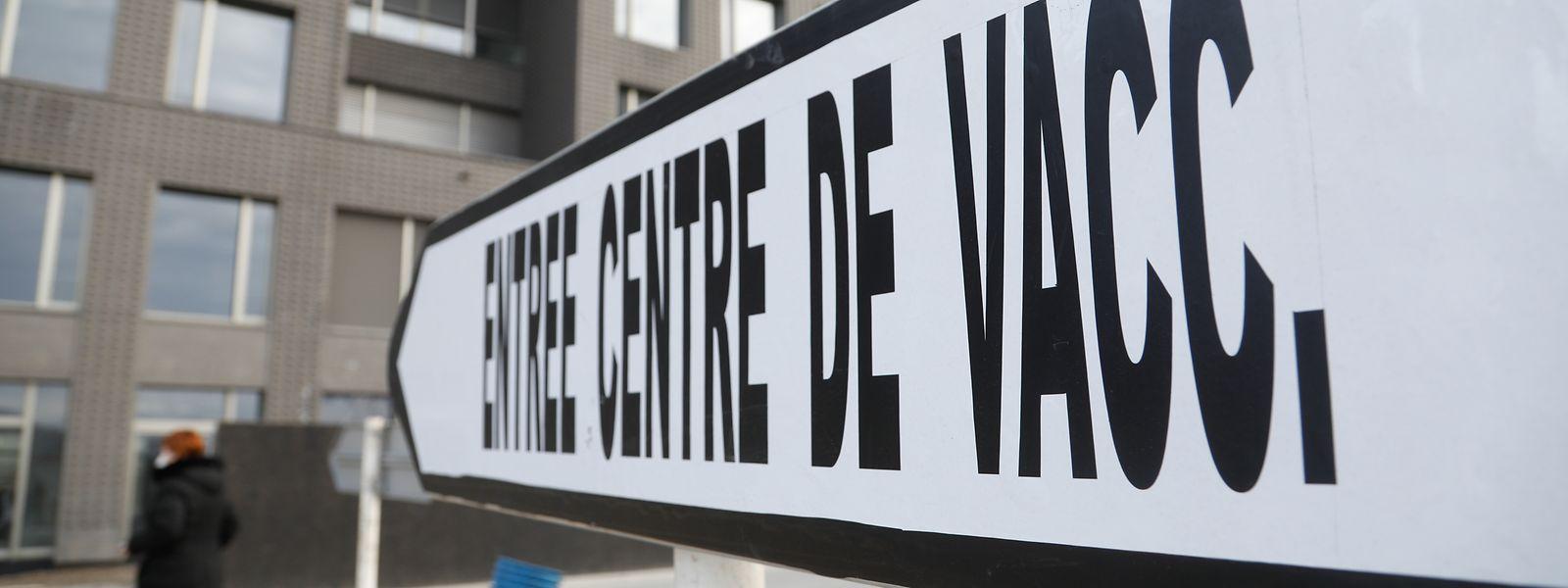 Centro de vacinação contra a covid-19 em Esch-Belval já está em funcionamento.
