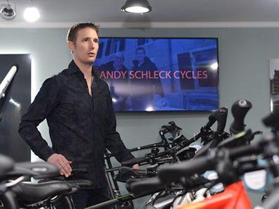 Pressekonferenz Andy Schleck Cycles - Foto: Serge Waldbillig