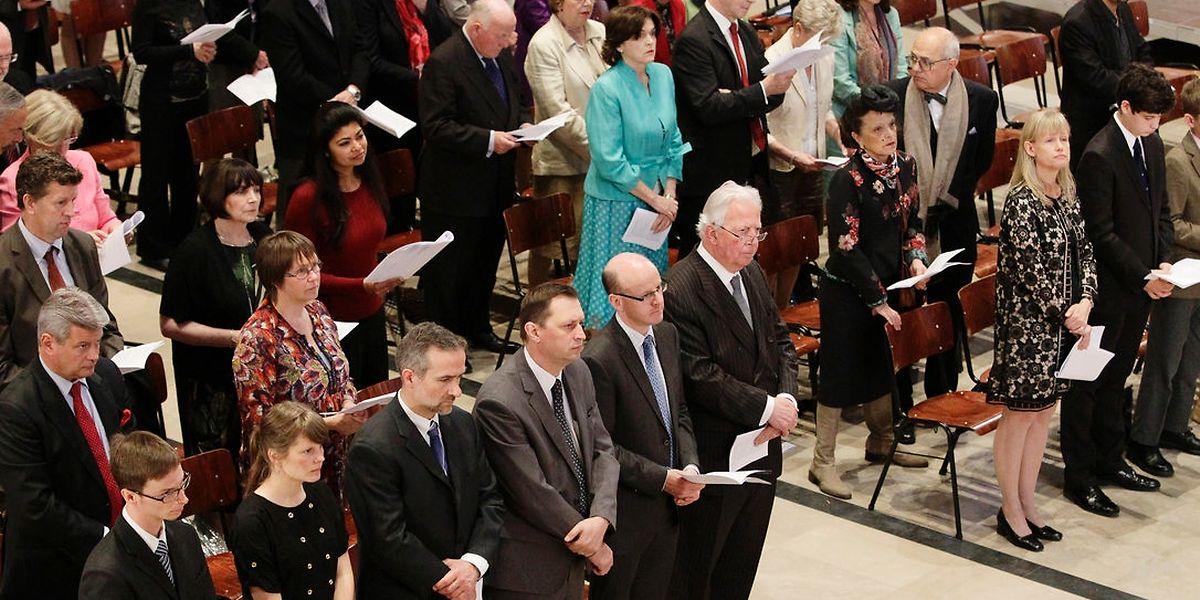 Eine oekumenische Ausrichtung hatte der von der britischen Botschaft organisierte Danksagungsgottesdienst in der Kathedrale von Luxemburg