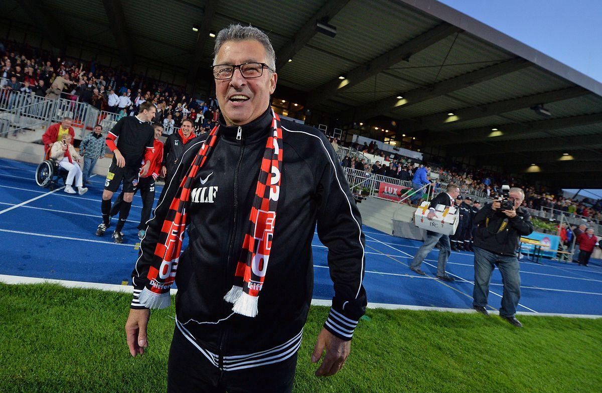 Michel Le Flochmoan est le dernier coach à avoir mené le FCD03 à la victoire à domicile contre Dudelange. C'était en mai 2013...