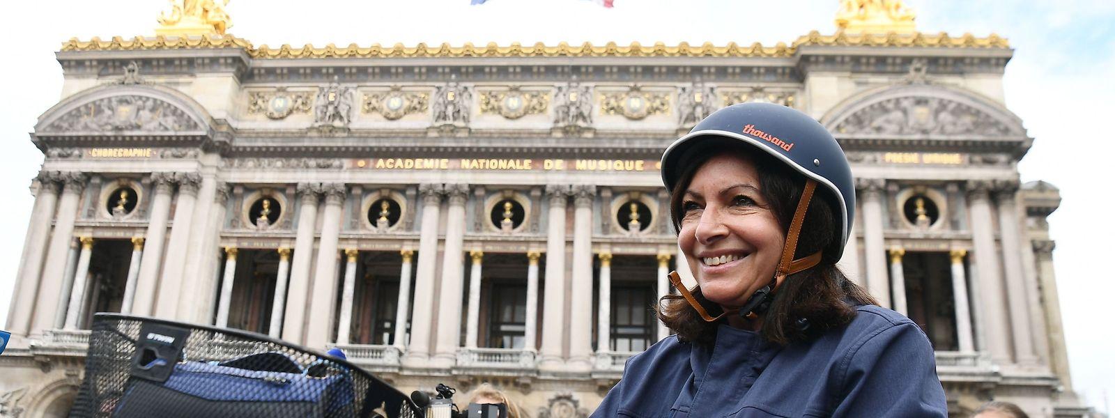 Wenn sie am Sonntag wiedergewählt wird, will Bürgermeisterin Anne Hidalgo die Entwicklung von Paris zur fahrradfreundlichen Stadt weiter vorantreiben.