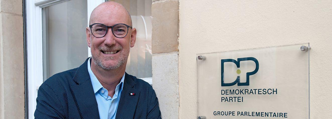 Interview mit DP-Fraktionschef Gilles Baum (Foto: Alain Piron)
