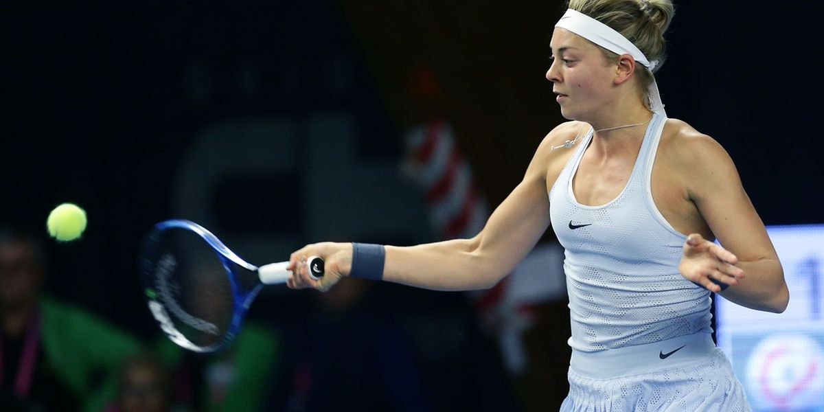 A 22 ans, Carina Witthoeft a décroché le premier titre de sa carrière sur le circuit de la WTA.