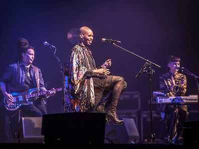Skunk Anansie at the Rockhal in 2014