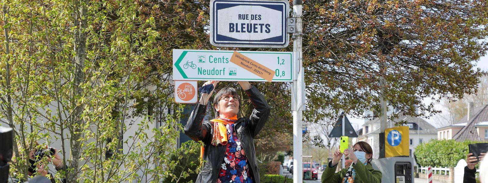 Für Radfahrer und Fußgänger soll der Weg zwischen Kirchberg und Cents in Zukunft nur noch 1,2 Kilometer lang sein.