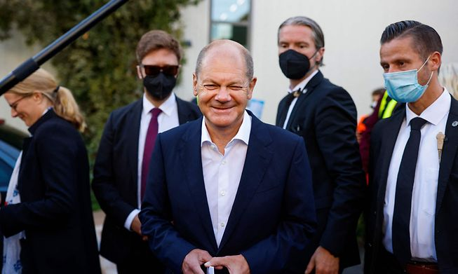 Olaf Scholz would be set to become the next German Chancellor if the numbers are replicated in the vote on September 26