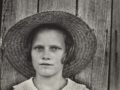 Lucille Burroughs, the daughter of a cotton cropper - Hale County, Alabama