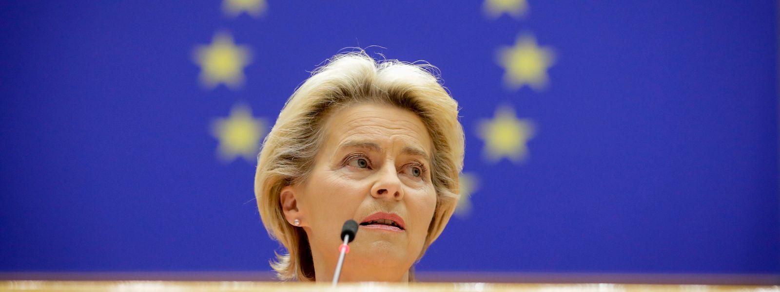 «Nous faisons oeuvre de pionnier en élaborant une norme de l'UE solide en matière d'obligations vertes», affirme Ursula von der Leyen