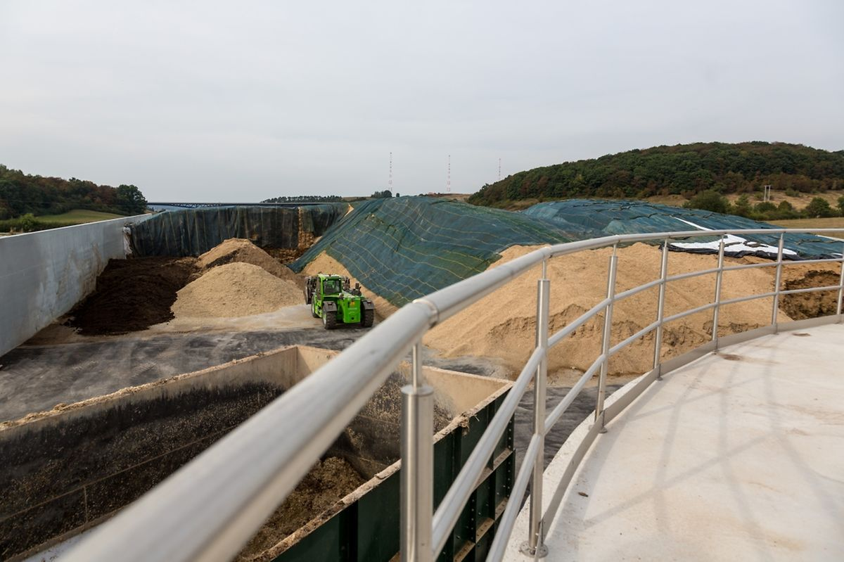 Bei der Biogasproduktion entsteht als Nebenprodukt auch Wärme.