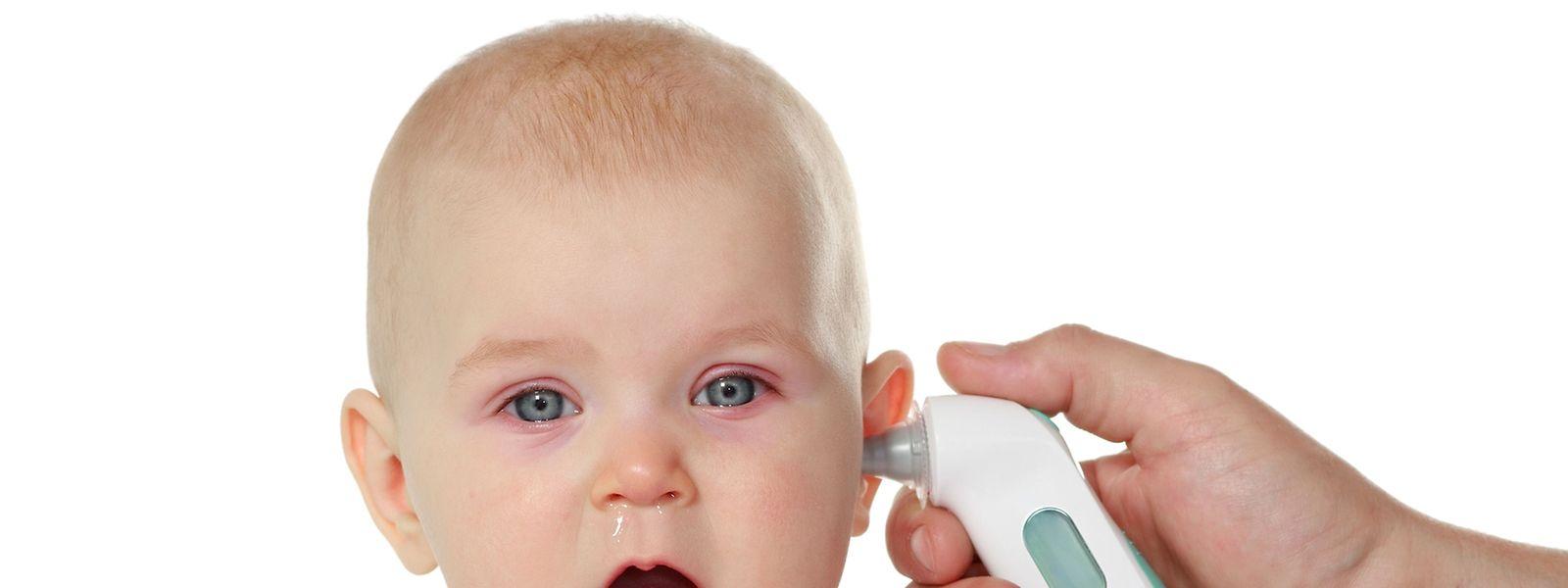 Fieber bei Kindern ist meist nichts Ernstes.