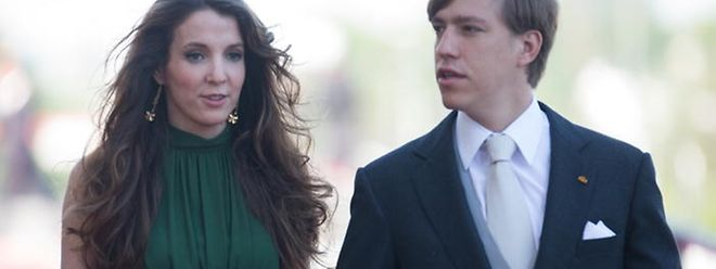 Le prince Louis et la princesse Tessy lors de la fête Nationale, le 23 juin 2016 à la Philharmonie.Ils s'étaient mariés le 29 septembre 2006.