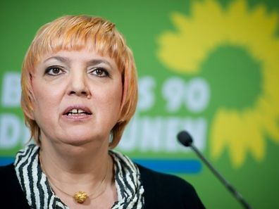 Claudia Roth of the German Green Party