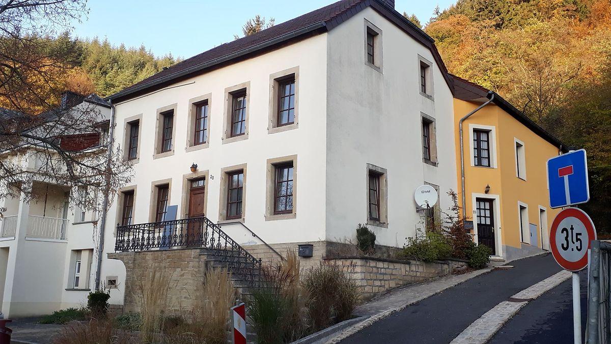 Casa, em primeiro plano, de onde a família Piedade foi desalojada.