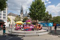 Lokales, Reportage: Auftakt der Quartiersfeste in der Hauptstadt, Corona, Covid-19, Foto: Lex Kleren/Luxemburger Wort
