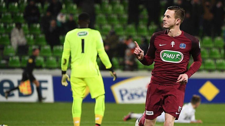Caen qualifié au bout du suspense — Coupe de France