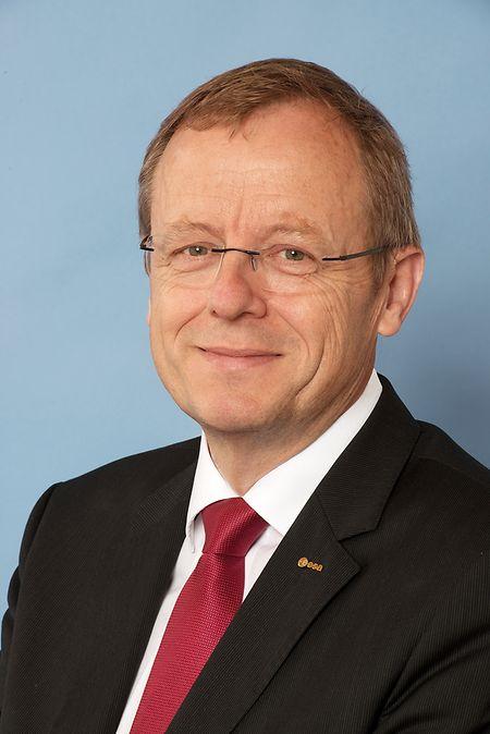 """Jan Wörner, Chef der Europäischen Weltraumorganisation (Esa): """"Ich halte den Mond tatsächlich für ein sehr vernünftiges Zielobjekt""""."""