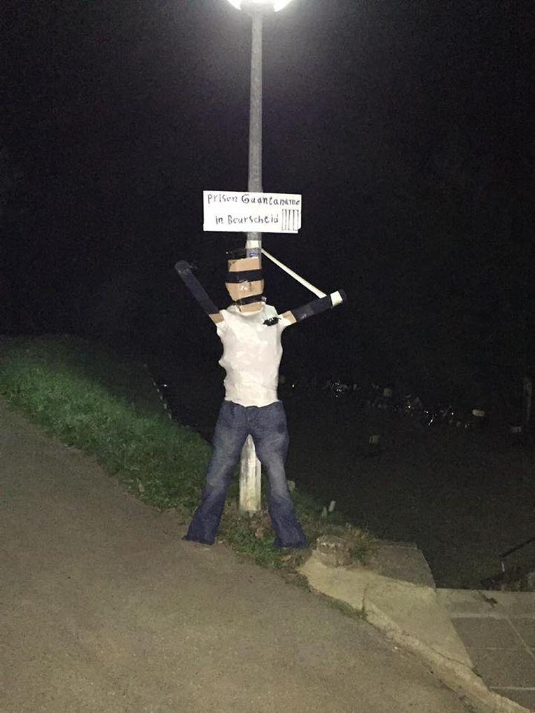 """Vorgestern erschien ein viel aussagendes Foto auf der Facebook-Seite """"Iraqis in Luxembourg"""", das die Zustände im Foyer von Bourscheid im Norden des Landes darstellen soll."""