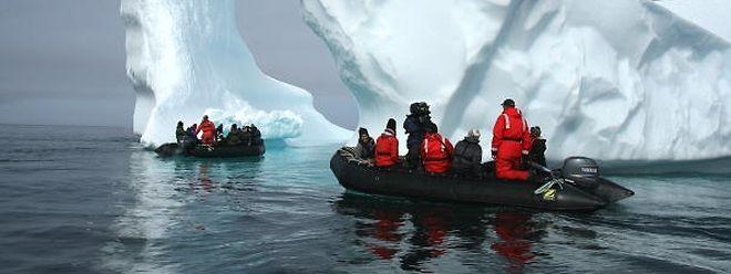 Um nach Kapstadt zu gelangen, müssen die Eisberge eine 3 000 Kilometer lange Strecke hinter sich bringen.