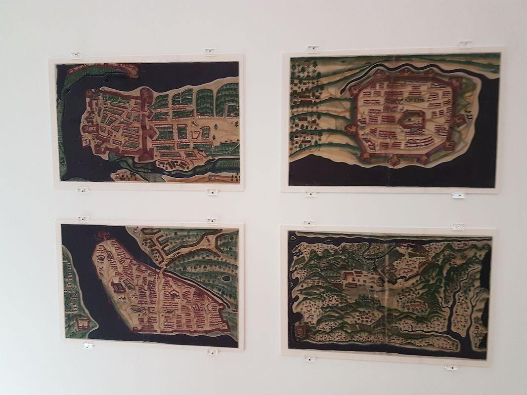 """Mapas de época de algumas das """"feitorias"""" e colónias criadas pelos portugueses no Oriente e Extremo Oriente"""