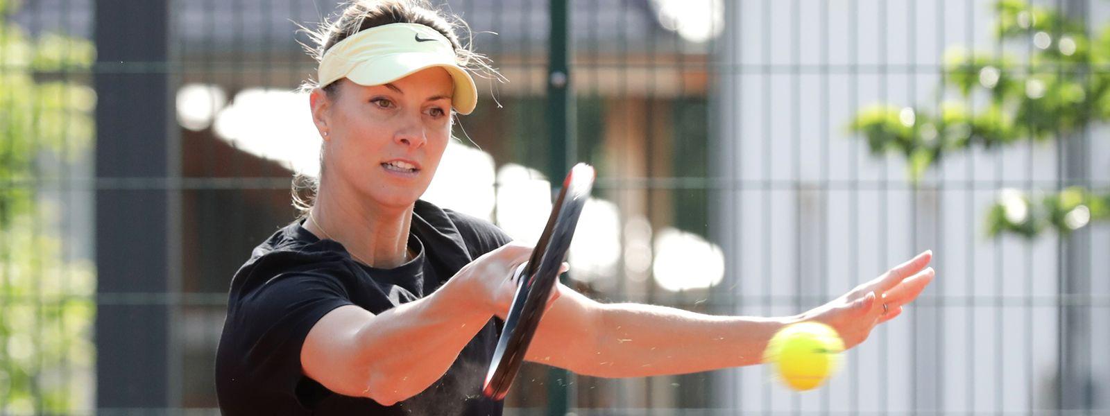 Mandy Minella n'avait pas envie de terminer sa carrière sur une saison interrompue par la crise du covid-19.