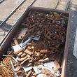In dem Metallschrott bei ArcelorMittal befanden sich Granaten - Giftstoffe wurden allerdings nicht gefunden.