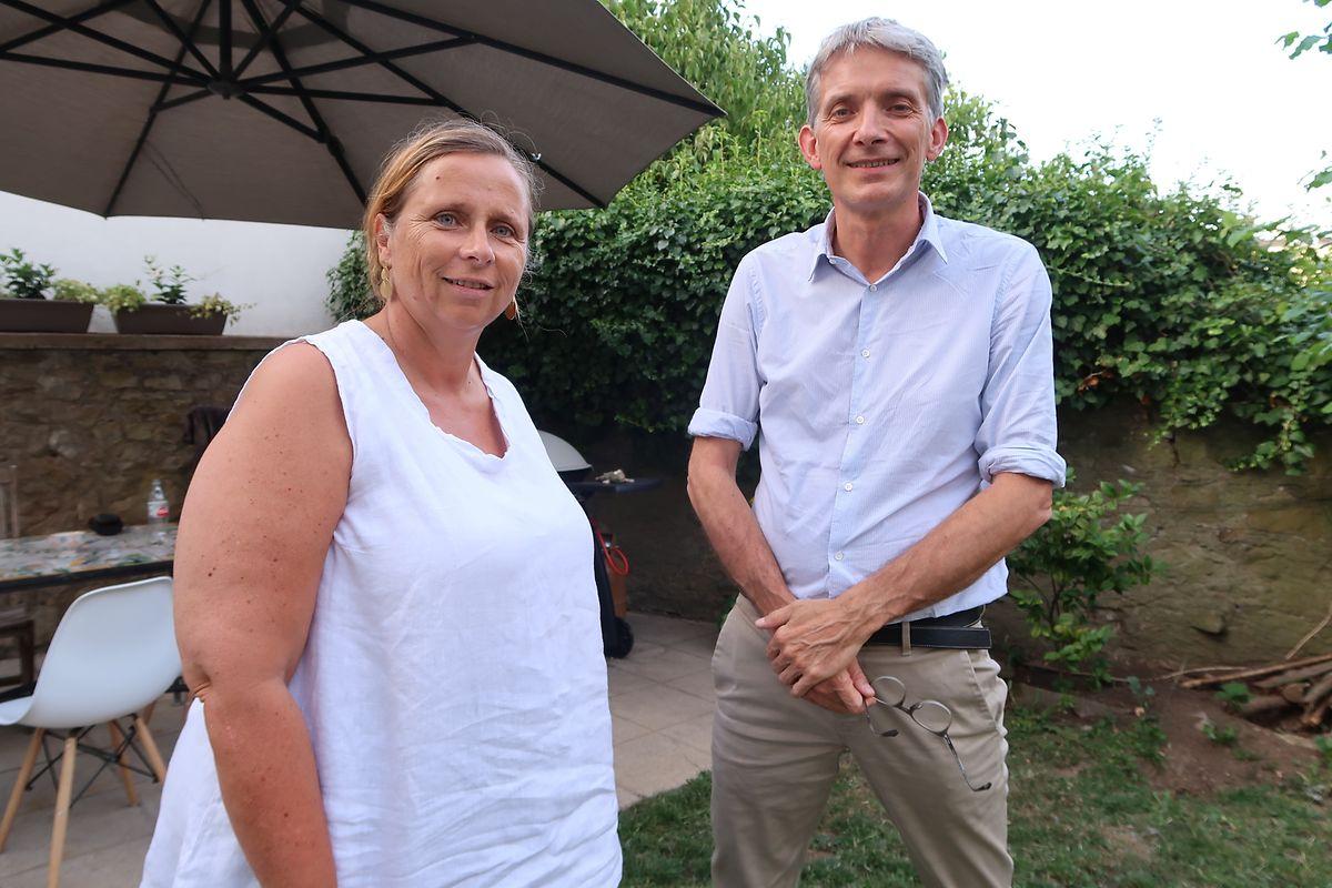 Dany de Muyser et Luc Schroeder, deux maillons forts de la Chaîne de l'Espoir Luxembourg qui comptent bien rendre son sourire à Gallo.