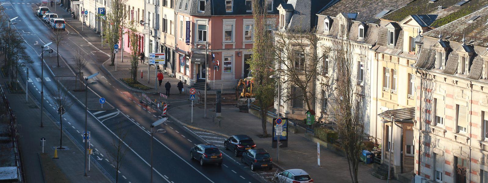 Fokus, Luxembourg, Esch, Stadt Esch, Sicherheitsbeilage, Bahnhof, gare, Passerelle, photo Anouk Antony