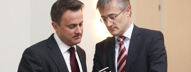 Xavier Bettel (l.) und Felix Braz: Weder aus dem Staats- noch aus dem Justizministerium gab es bisher eine Stellungnahme zur politischen Motivation des geplanten Burkaverbots.