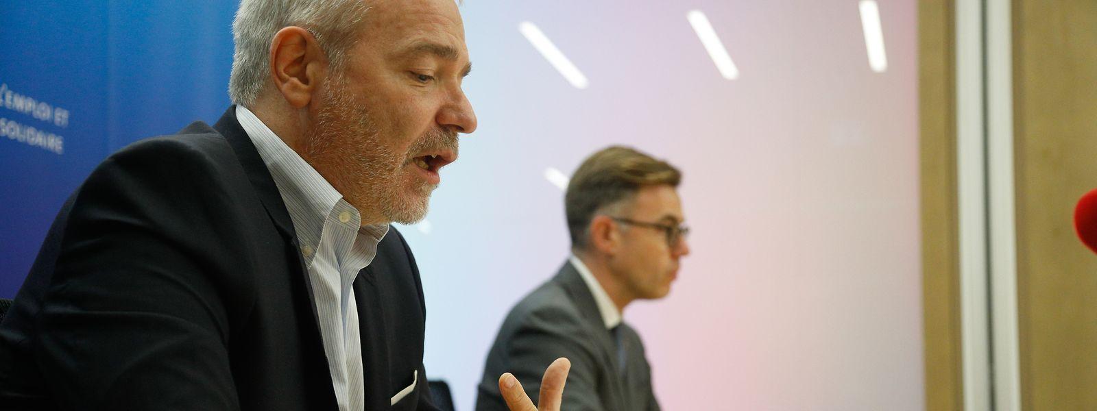 Die Kurzarbeit bleibt das wichtigste Instrument in der Krise, sagt Arbeitsminister Dan Kersch (LSAP).