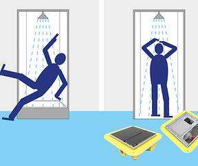 Stolperfalle Dusche:  Barrierefreiheit sorgt für zusätzlichen Sicherheitsgewinn