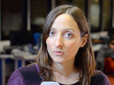 Linda Cortey, responsable de la rubrique économique du Luxemburger Wort.