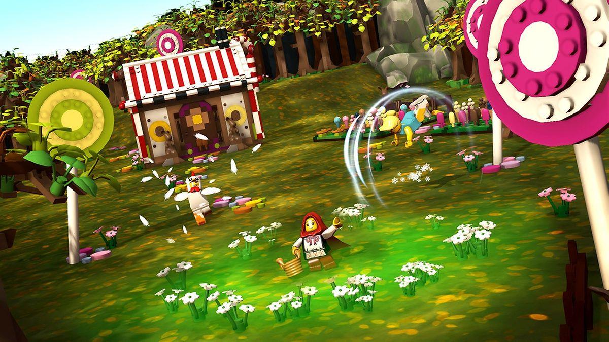 Zahlreiche kleine Lego-Figuren mit verschiedenen Fähigkeiten warten in LEGO Minifigures Online darauf, freigespielt zu werden.
