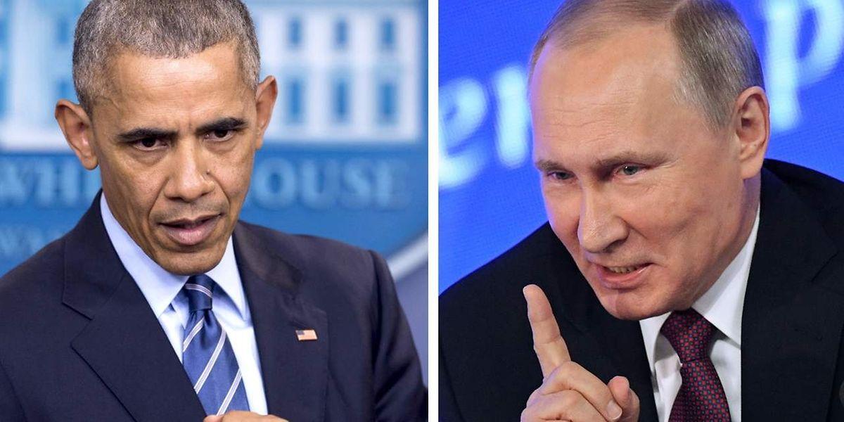 Selbst wenige Tage vor dem Ende seiner Präsidentschaft scheut Obama nicht die Konfrontation mit dem russischen Präsidenten Putin.