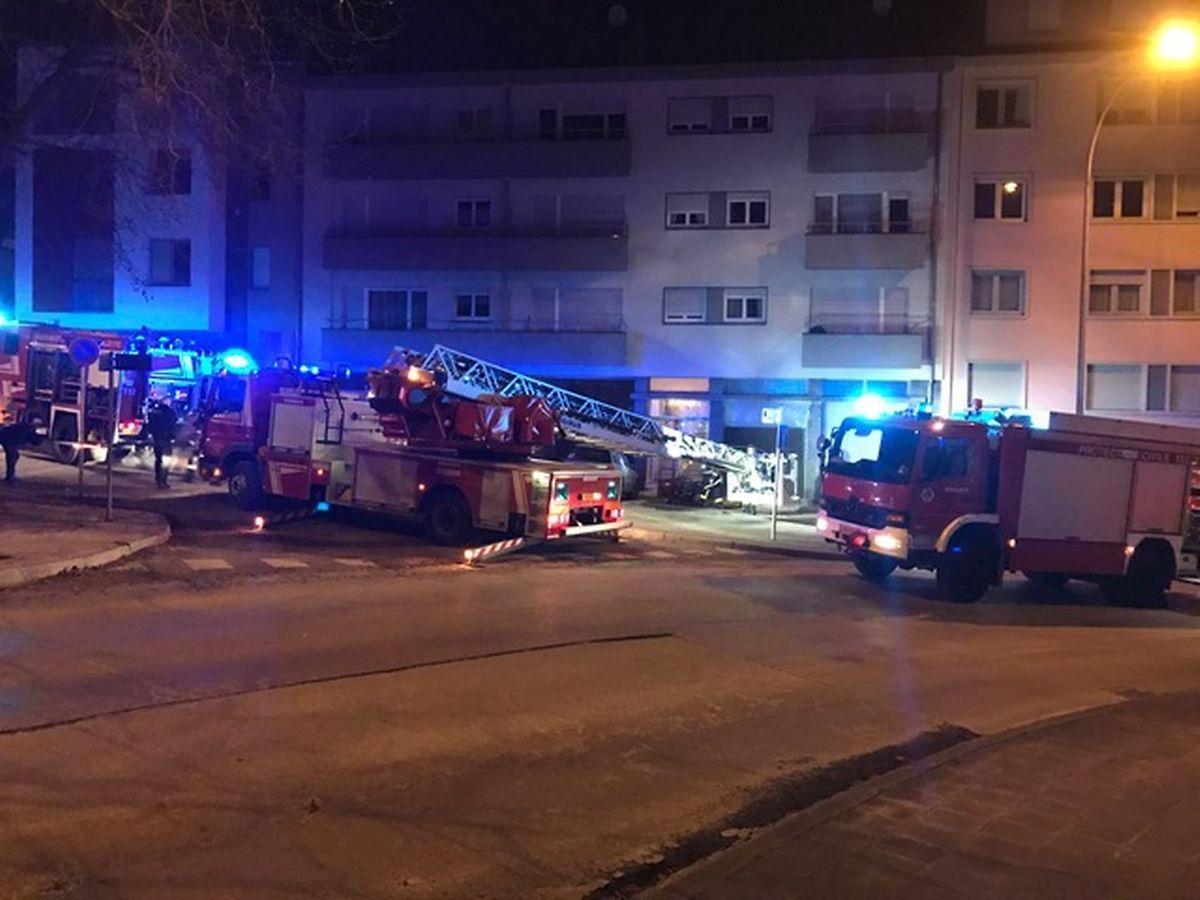 In Esch brannte es in einem Mehrfamilienhaus in der Grand-rue.