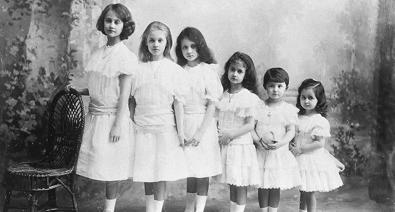 Töchter von Großherzogin Maria anna