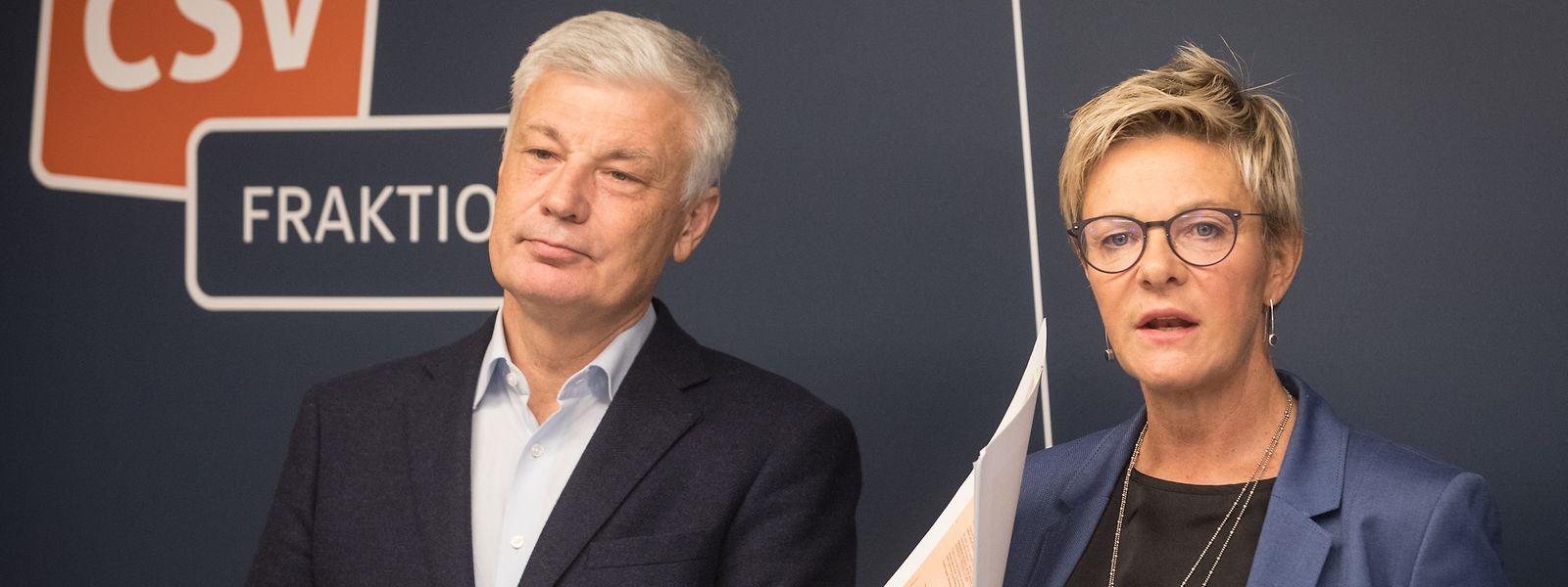 """""""Jeder soll wie Traversini behandelt werden"""", fordern Martine Hansen und Claude Wiseler"""