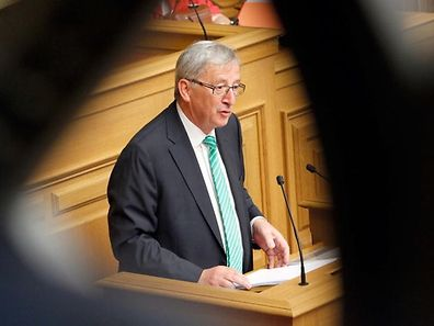 10.7.IPO / Chamber / SREL Rapport / Jean Claude Juncker  / foto. Guy Jallay