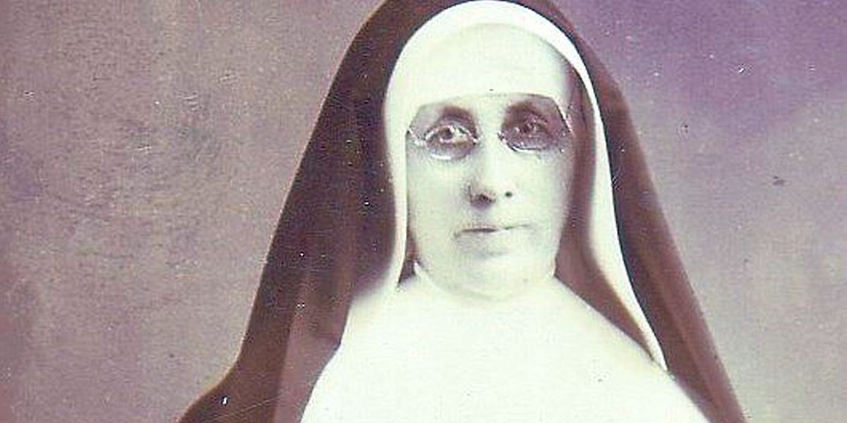 "Mary Alfred Moes war Generaloberin des Ordens der ""Sisters of St. Francis of Mary Immaculate""."