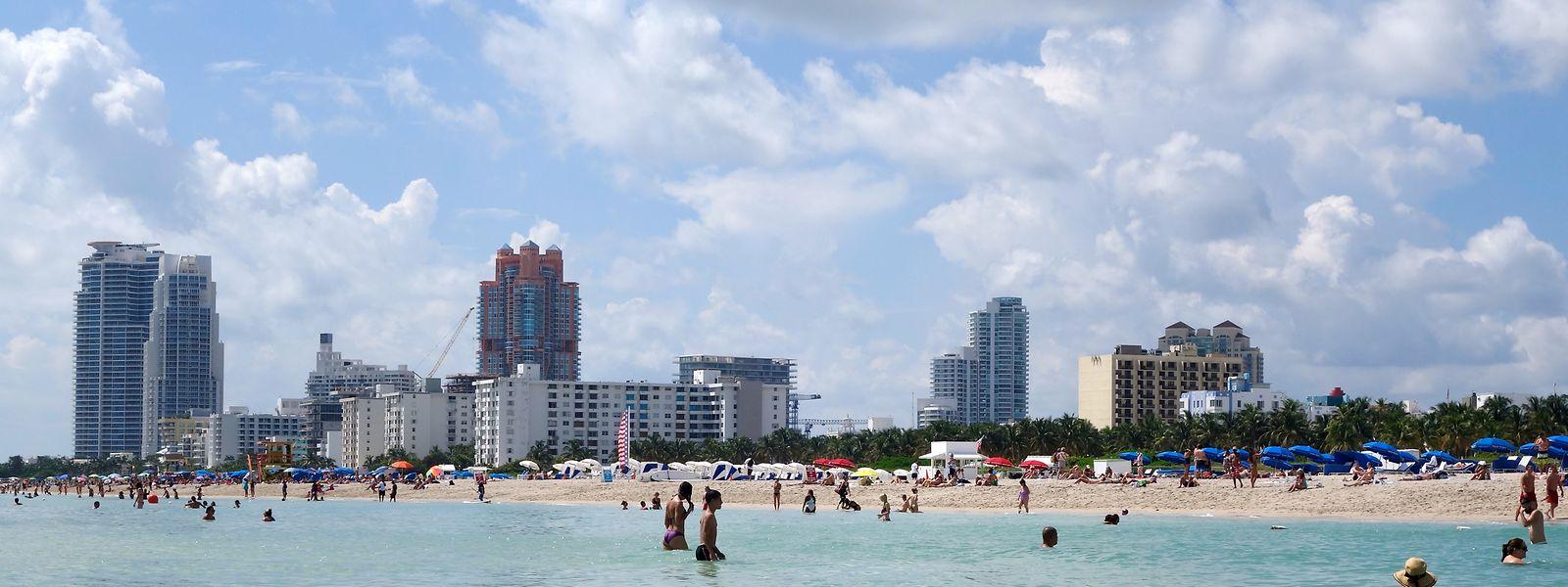 Miami ist eine Großstadt mit Strand, der Miami Beach ist weltberühmt - dort sind Plastikbecher ausUmweltschutzgründen verboten.