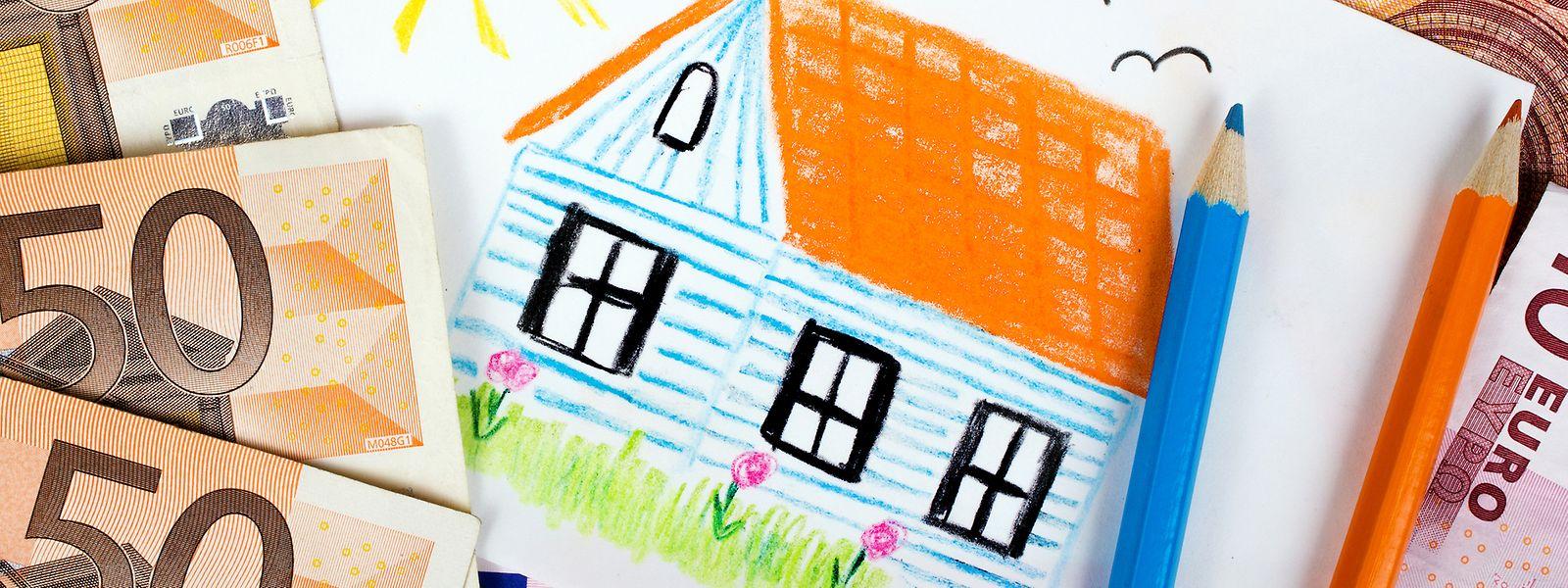 Sechs von zehn Haushalten zahlen einen Hauskredit ab oder zahlen Miete.