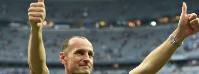 Heiko Herrlich war gerade erst mit Jahn Regensburg in die 2. Liga aufgestiegen.