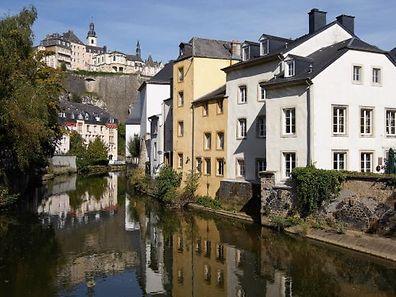 O Grund é um dos bairros mais bonitos da capital luxemburguesa.