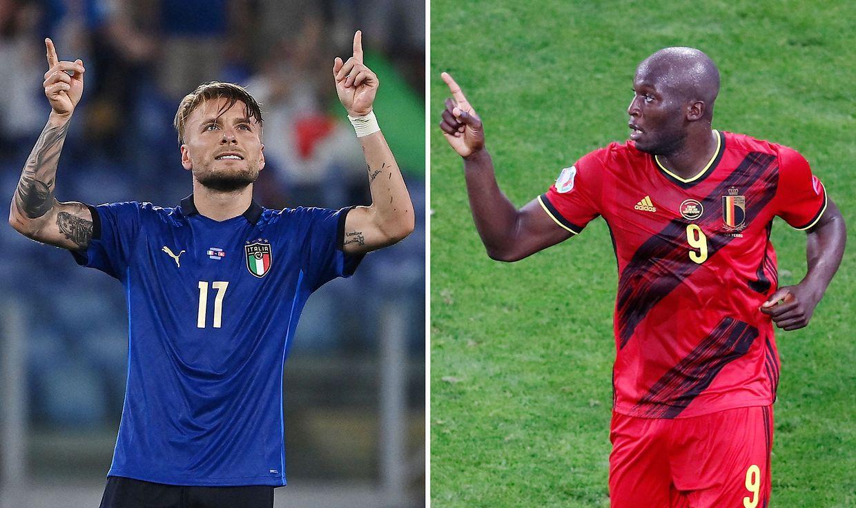 Ciro Immobile et Romelu Lukaku pourraient bien être les deux stars du match de vendredi.