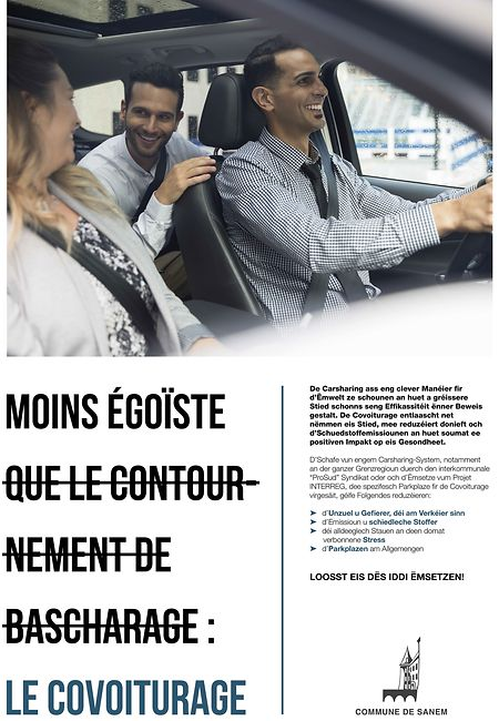 Mit Plakaten wie diesen, sollen Autofahrer zum Umdenken bewegt werden.