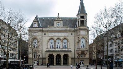 21.3. IPO / 60 Jahre Römische Verträge / Cercle Municipal , Place d`Armes Foto:Guy Jallay