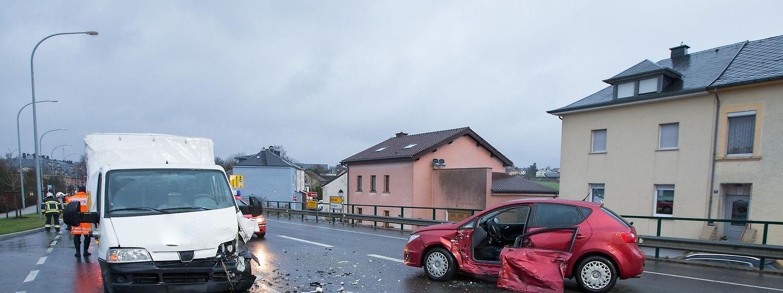 Eine Person wurde leicht verletzt.
