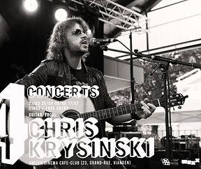 Chris Krysinski unplugged