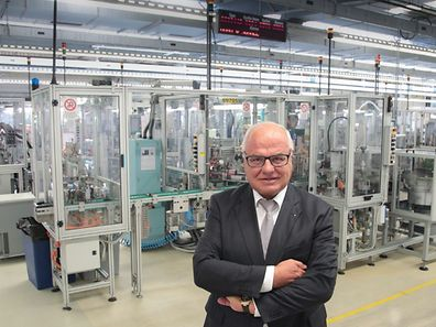 A 65 ans, René Elvinger est encore un jeune entrepreneur. Il est devenu son propre patron il y a seulement cinq ans. Entré à 25 ans dans la jeune usine Elth de Steinsel, il en avait pris la direction générale en 1985. Avant de la racheter en 2011.